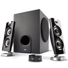 Cyber Acoustics Desktop Computer Speaker with Subwoofer - Perfect Gaming and Multimedia PC speakers Best Computer Speakers, Laptop Speakers, Desktop Speakers, Satellite Speakers, Subwoofer Speaker, Stereo Speakers, Laptop Computers, Sound Speaker, Gaming Computer