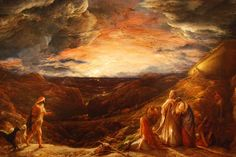 The Eve of the Deluge - John Linnell