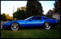 Mad Modded 1994 - New Benchmark Of Corvette Cool Chevrolet Corvette C4, Corvette Zr1, Cheap Sports Cars, Sport Cars, Love Car, Fast Cars, Muscle Cars, Cool Stuff, Mad