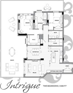 Your Luxury penthouse Condo Floor Plans, Small Floor Plans, Apartment Floor Plans, Small House Plans, Guest House Plans, House Layout Plans, House Layouts, Luxury Penthouse, Luxury Condo