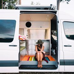 Check out these sprinter van digs! Van: @nomadvanz #sprintercampervans Regram via @sprintercampervans