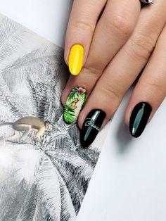 HOT summer super slim nails Halloween Poems, Halloween Stickers, Halloween Nail Art, Easy Nails, Simple Nails, Cute Nails, Scary Decorations, Beautiful Nail Art, Summer Nails