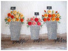 Three bouquets (Kazuko Aoki) by R.rima, via Flickr