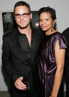 Keisha & Justin Chambers ~ 19 years    Justin met his wife Keisha – a booking agent while modeling. They married in 1993. The Chambers' maintain a low-profile life outside of their individual professions.