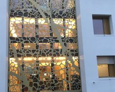 Image 16 of 16 from gallery of Perforated Facade Cladding CELLON Decorating Blogs, Cladding, Planer, Wine Rack, Facade, Custom Design, Exterior, Gallery, Modern