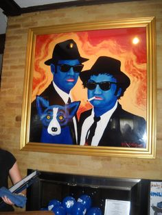 Blue Dog Cafe in Lafayette, LA