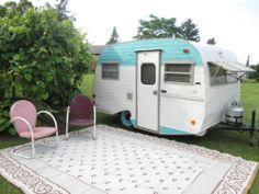 Scotty Serro Gaucho Classic Vintage camper Key Canned Ham Casita Shasta Bambi | eBay
