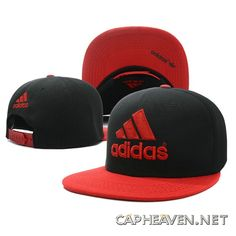 Adidas Red and Black high quality snapback with free worldwide shipping