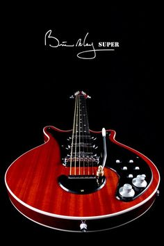 BM Super 2009 #2 Brian May Guitars from Queen's icon founding member.