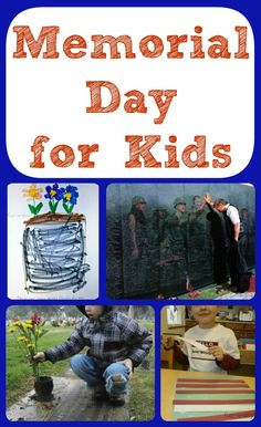 Memorial Day for Kids {A Few Ideas} -- A few simple, meaningful ideas about how to introduce children to the real meaning behind Memorial Day.