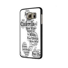 Disney Words Collage Samsung Galaxy S6 | S6 Edge Cover Case