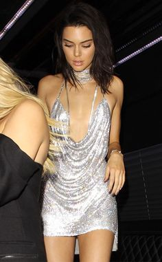 Kendall Jenner Celebrates 21st Birthday in a Shiny Slinky Dress and Receives a New Car | E! News