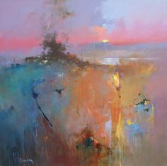 Peter Wileman - The Kiss of Dawn, 36 x 36, Oil on Canvas