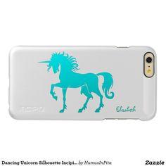 Dancing Unicorn Silhouette Incipio Case Incipio Feather® Shine iPhone 6 Plus Case