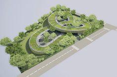 vo trong nghia spirals farming kindergarten vietnam designboom