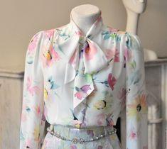 Шелковая блузка – купить в интернет-магазине на Ярмарке Мастеров с доставкой - CO747RU