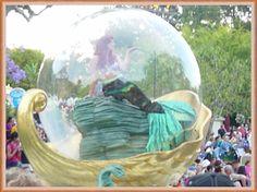 Ariel in a bubble