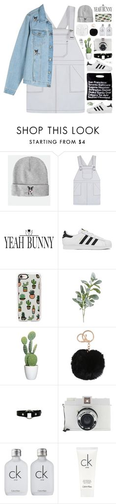 """""""YeahBunny """" by novalikarida ❤ liked on Polyvore featuring American Apparel, adidas, Casetify, Pier 1 Imports, Lomography, Calvin Klein and YeahBunny"""