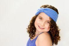 Turban Knot Headband Crochet Pattern via Hopeful Honey