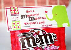 """For Maeve's Class - """"Maeve wishes you a magnificent marvelous Valentine's Day!"""""""