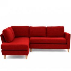 Ridley Corner Left Hand Facing Sofa Red