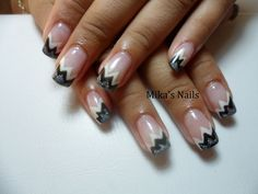 Zig-zag black & grey