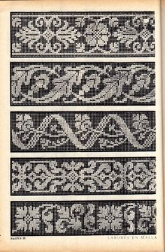Thrilling Designing Your Own Cross Stitch Embroidery Patterns Ideas. Exhilarating Designing Your Own Cross Stitch Embroidery Patterns Ideas. Fair Isle Knitting Patterns, Knitting Charts, Loom Patterns, Knitting Stitches, Filet Crochet, Crochet Borders, Crochet Chart, Cross Stitch Borders, Cross Stitch Designs