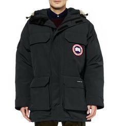 Canada Goose Expedition Coyote-Trim Parka Jacket