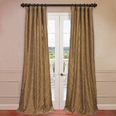 Found it at Wayfair - Alexandria Faux Taffeta Silk Single Curtain Panel