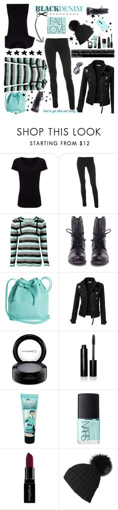 """""""Black Jeans"""" by daiscat ❤ liked on Polyvore featuring Joseph, Dorothy Perkins, Steve Madden, Mint & Rose, MAC Cosmetics, Bobbi Brown Cosmetics, Benefit, NARS Cosmetics, Smashbox and women's clothing"""