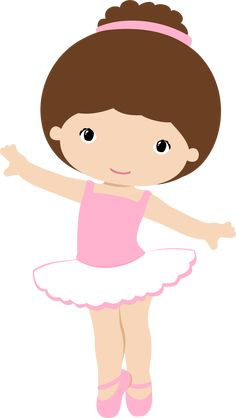 View all images at PNG folder Ballerina Birthday Parties, Ballerina Party, Ballerina Nursery, Baby Ballet, Little Ballerina, Music Clipart, Girl Clipart, Pearl Party, Tutu