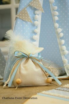 Boho style christening gift