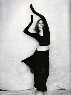Veruschka; December 1988; Veruschka photographed by Peter Lindbergh
