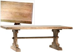 """Remus 84"""" Dining Table - Gray Wash"""