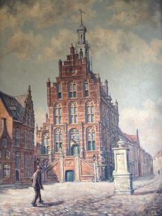 Wim G. de Vries 1909-1958. Stadhuis @Culemborg. Datering: rond 1930.