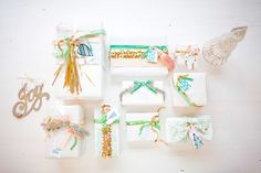 DIY Gift Wrap: Ed. 02 | Wedding Blog – Wedding Colors & Inspiration | Grey Likes Weddings