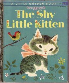 A little golden book: The Shy Little Kitten