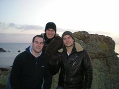 Home with brothers on the Isle of Jersey