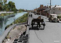 Dublin, Ireland, James Walk Rialto end Dublin Street, Dublin City, Old Pictures, Old Photos, Vintage Photos, Photo Engraving, Ireland Homes, Dublin Ireland, Vacation Places