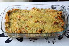 Andijvie stamppot schotel met paprika, ui en kaas - De keuken van Ursie