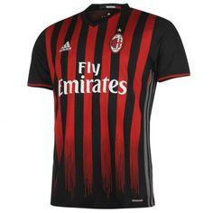 Maillot AC Milan pas cher 2016-2017 Domicile