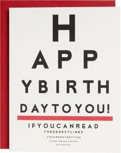 If You Can Read Birthday Card
