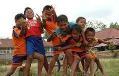 Balinese boys
