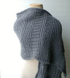 Ravelry: Project Gallery for Guernsey Wrap pattern by Jared Flood