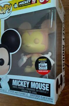 NEW Exclusive Funko Pop Disney Peaches & Cream 01 Mickey Mouse 90yrs LTD Edition #Funko