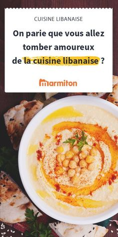 Discover the treasures of Lebanese cuisine: hummus, fatayer, taboulé . Middle East Food, Lebanese Cuisine, Falafel, Hummus, Meal Planning, Food And Drink, Snacks, Meat, Vegetables