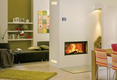 moderne wohnung einrichtung heizsystem kologisch wasserf hrend kaminofen design eingebaut. Black Bedroom Furniture Sets. Home Design Ideas