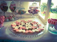 dessert table biscotti farfalla