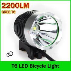 2200LM CREE XM-L T6 Bike Light Bicycle Headlight Headlamp LED Light Flashlight-battery not included | Price: US $7.81 | http://www.bestali.com/goto/32308746755/10