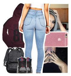 """""""Told me everything about you"""" by naebreezy ❤ liked on Polyvore featuring Victoria's Secret and Retrò"""